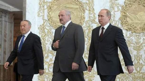 Зустріч президентів Росії, Білорусі і Казахстану перенесли