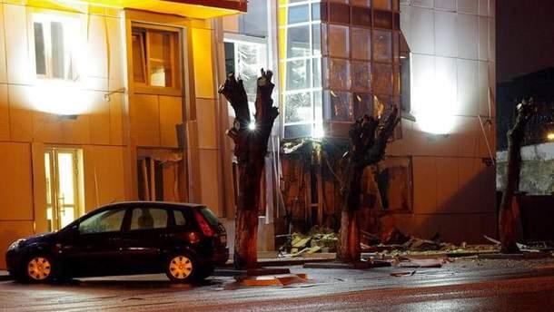 Наслідки вибуху в Одесі