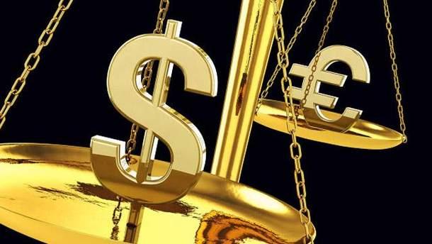 Долар і євро