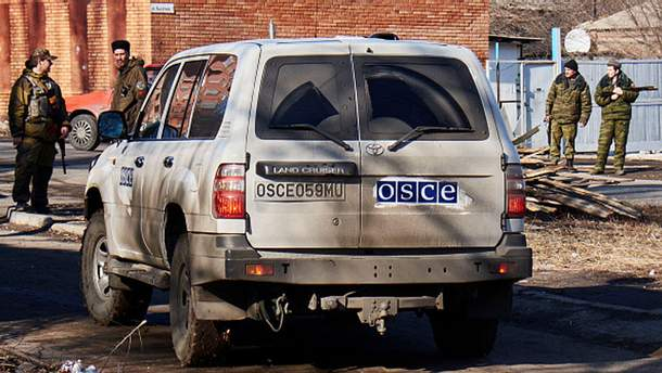 Автомобиль ОБСЕ