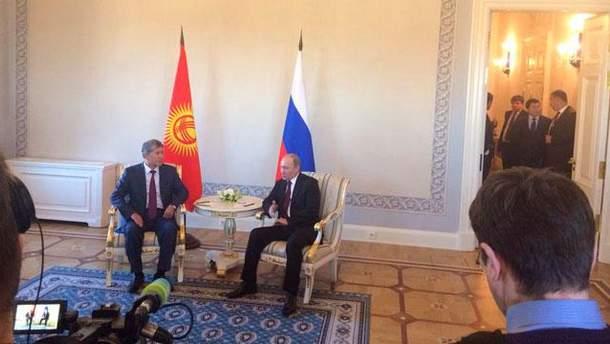 Путин появился на публике (Фото)