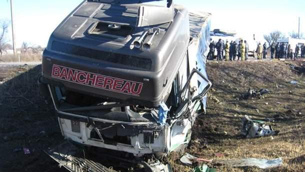 Авария в Полтавской области