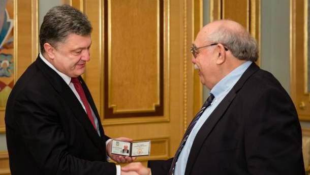 Петро Порошенко і Олександр Пасхавер