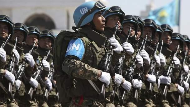 Росія не може брати участь у миротворчій операції, — Адміністрація Президента