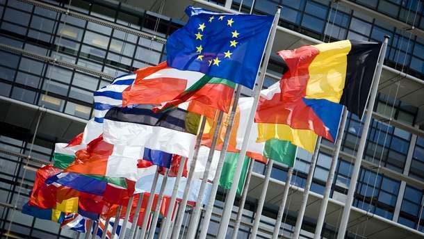 Флаги стран-членов ЕС