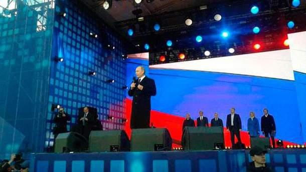 Володимир Путін пишається анексією Криму