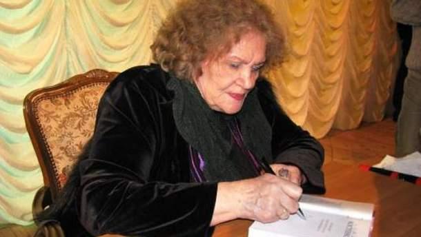 Лина Костенко отмечает 85-летие