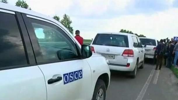 Автомобили ОБСЕ