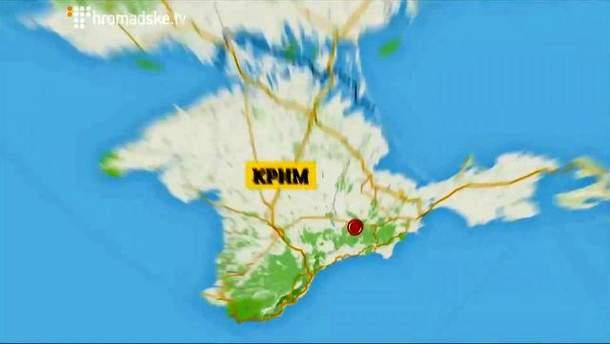 Карта Крима