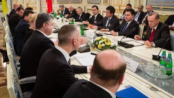 Переговоры Петра Порошенко и Реджепа Тайипа Эрдогана