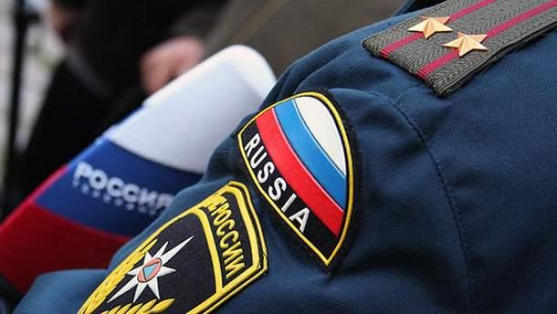 Нашивка МЧС России
