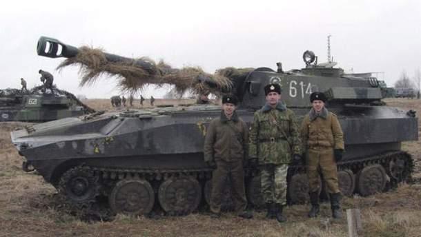 """Самохідна артилерійська установка """"Гвоздика"""""""