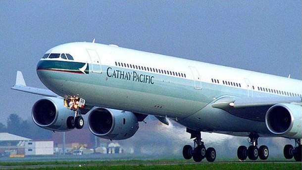 Самолет Cathay Pacific Airways