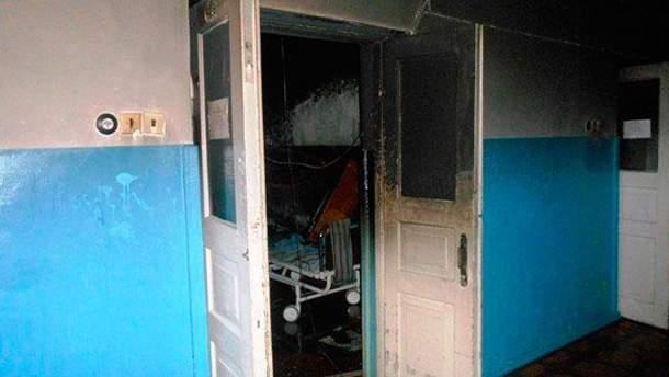 Последствия пожара в больнице