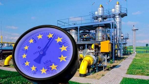 Европейский газ