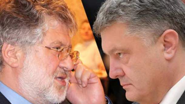 Коломойський і Порошенко