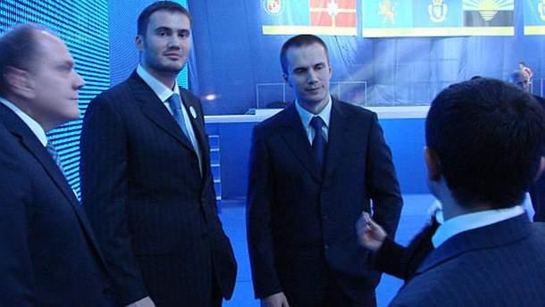 Сини Віктора Януковича Віктор і Олександр