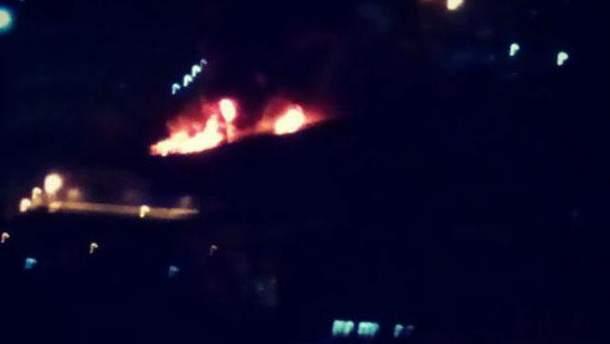 Пожежа в Одинцово