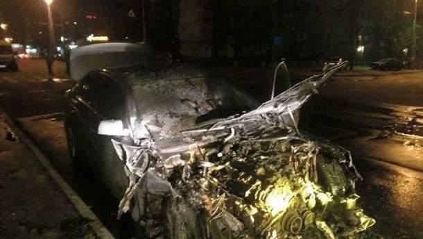 Бланку сожгли авто