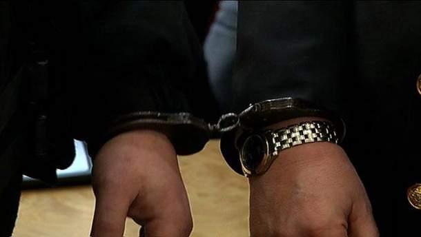 Бочковский в наручниках