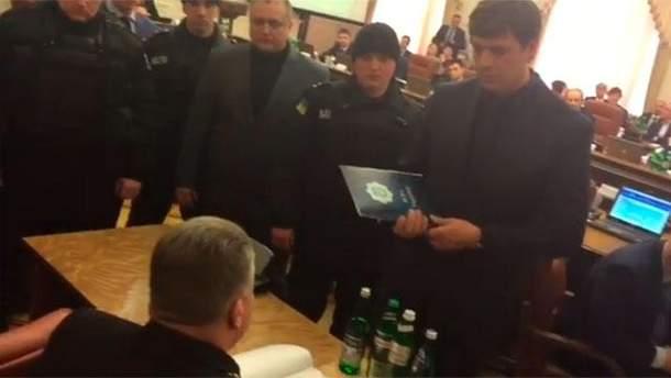 Задержание главы ДСНС Сергея Бочковского