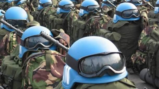 Снаряжение миротворцев