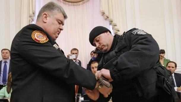 Задержание Бочковского 25 марта