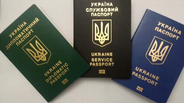 Биометрические паспорта