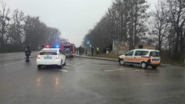 Смертельна ДТП на Львівщині