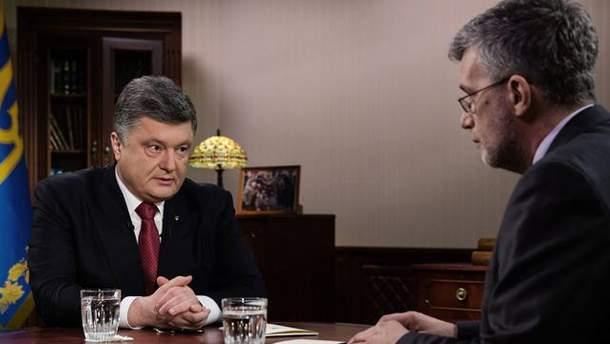 Петр Порошенко и Андрей Куликов