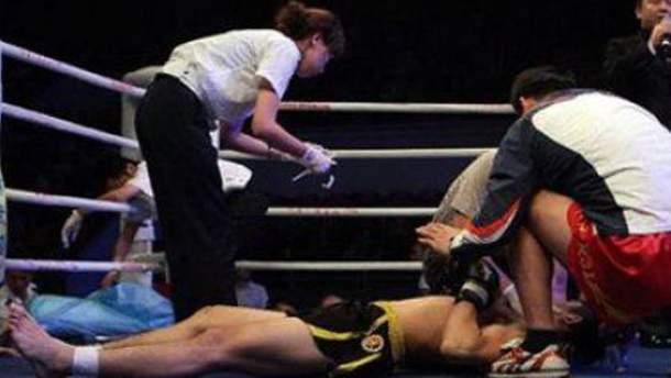 Боец на ринге