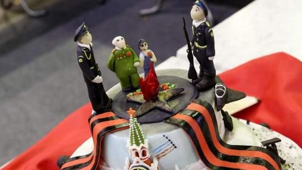 Торт до Дня Перемоги