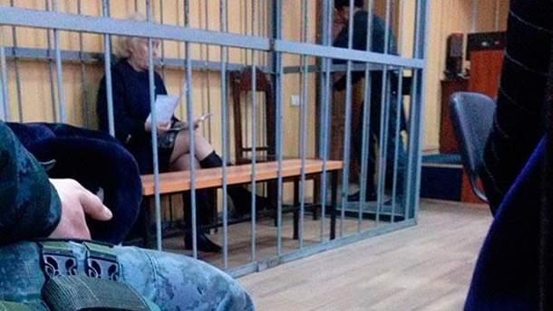 Неля Штепа на засіданні суду