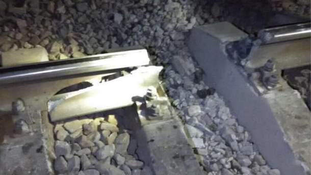 Прогремел взрыв на железной дороге