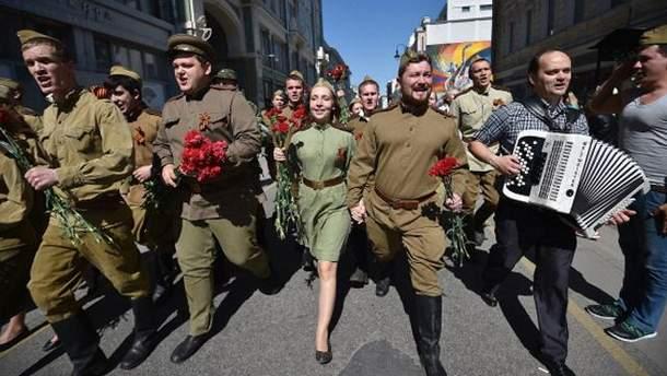 Празднование 9 мая в Москве