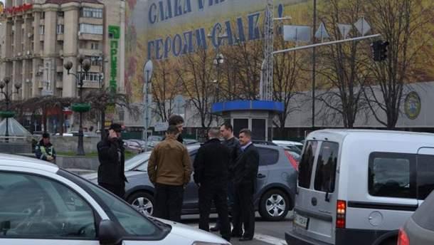 Авария с участием Алексея Порошенко