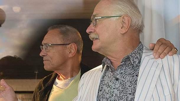 Михалков та  Кончаловський
