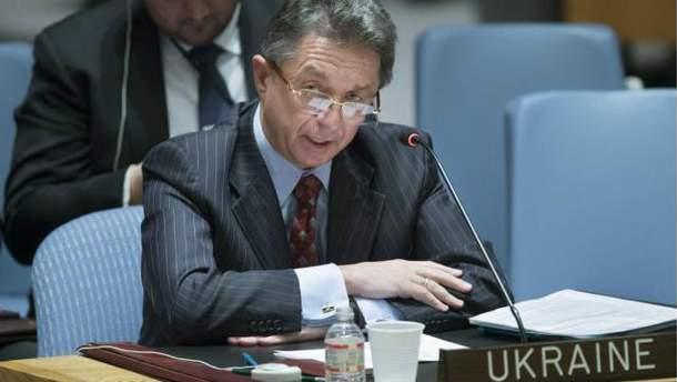 Представитель Украины в ООН Юрий Сергеев