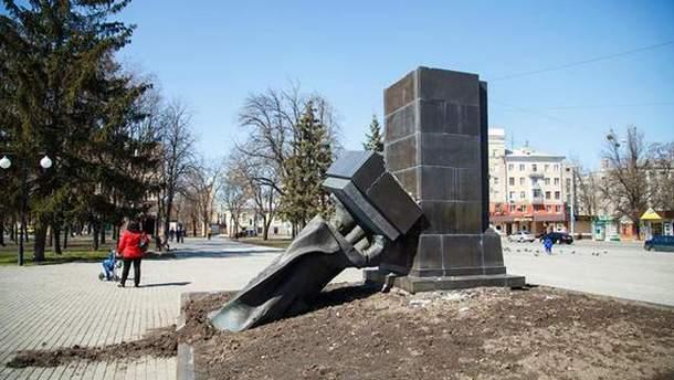 Памятник Миколі Руднєву