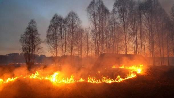Пожежа в Хакасії
