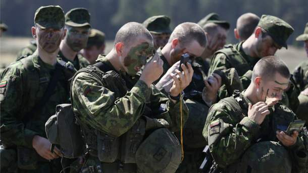 Подготовка к военным учениям