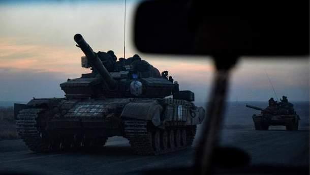 Танк бойовиків