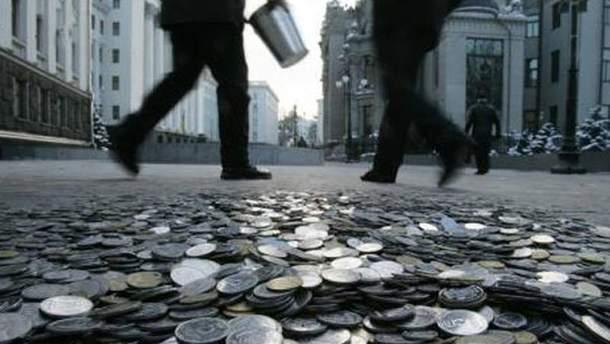 Украине  угрожает дефолт