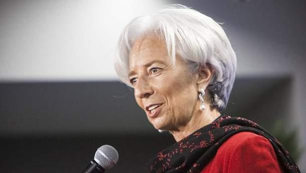 Глава МВФ Крістін Лаґард