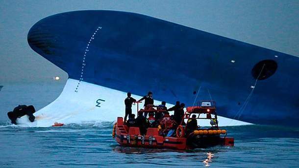Аварія корабля