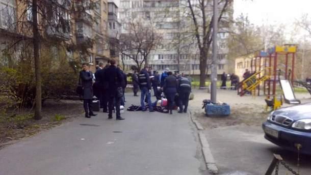Место убийства Олеся Бузины