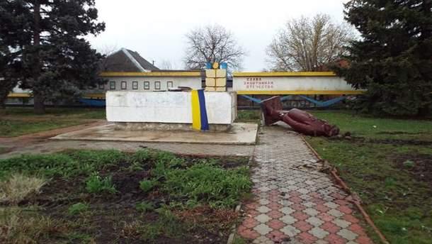 Пам'ятник Леніну в Станиці Луганській