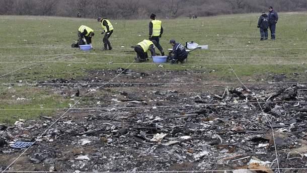 На месте катастрофы MH17 возобновились поисковые работы