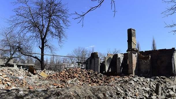 Руины Иловайска