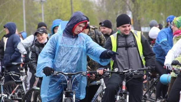 Велопробіг у Запоріжжі